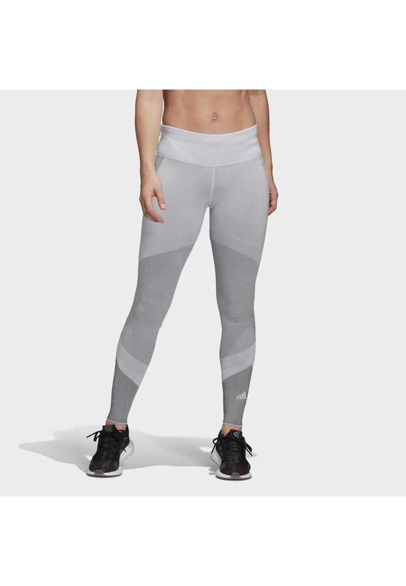 adidas Performance - PRIMEKNIT LEGGINGS - Leggings - grey