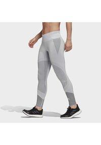 adidas Performance - PRIMEKNIT LEGGINGS - Leggings - grey - 3