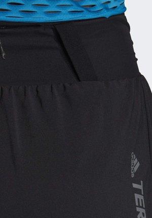 TERREX PARLEY AGRAVIC ALL-AROUND SHORTS - Krótkie spodenki sportowe - black