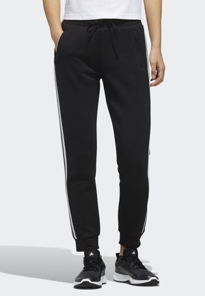 MUST HAVES 3-STRIPES JOGGERS - Tracksuit bottoms - black