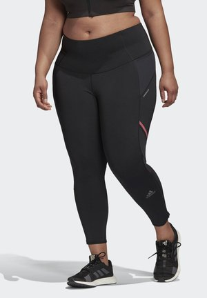 HOW WE DO LONG LEGGINGS (PLUS SIZE) - Legging - black