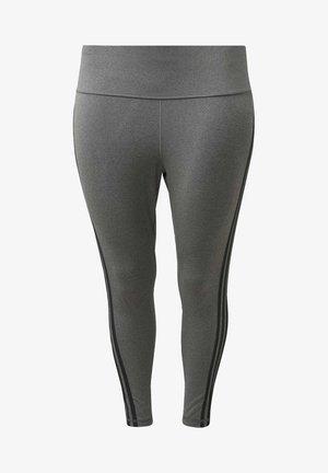 BELIEVE THIS 3-STRIPES 7/8 LEGGINGS (PLUS SIZE) - Legging - grey