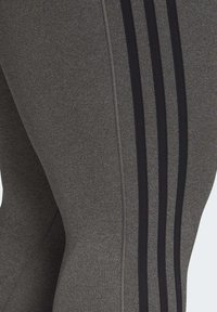 adidas Performance - BELIEVE THIS 3-STRIPES 7/8 LEGGINGS (PLUS SIZE) - Legging - grey - 5