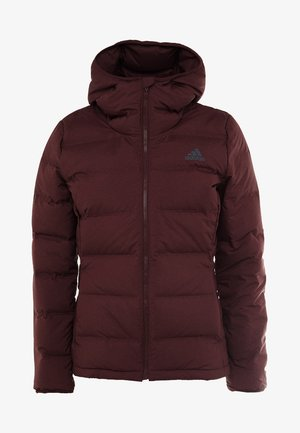 HELIONIC HOODED  - Winter jacket - maroon