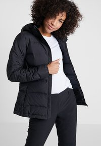 adidas Performance - HELIONIC HOODED  - Winter jacket - black - 0