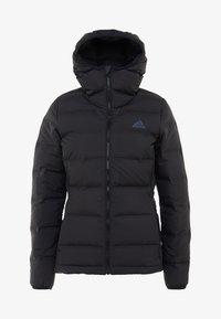 adidas Performance - HELIONIC HOODED  - Winter jacket - black - 5