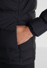 adidas Performance - HELIONIC HOODED  - Winter jacket - black - 4