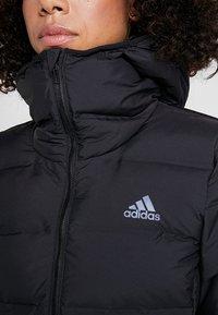 adidas Performance - HELIONIC HOODED  - Winter jacket - black - 6