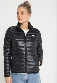 adidas Performance - VARILITE DOWN JACKET - Winter jacket - black - 0