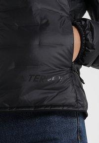 adidas Performance - TERREX LIGHT DOWN JACKET - Winter jacket - black - 5