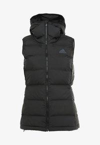 adidas Performance - HELIONIC DOWN VEST - Veste sans manches - black - 5
