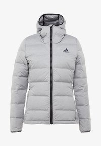 adidas Performance - HELIONIC - Down jacket - medium grey heather - 4