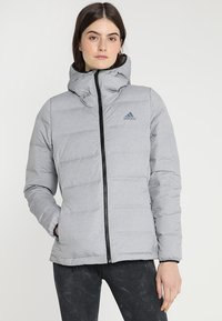 adidas Performance - HELIONIC - Down jacket - medium grey heather - 0