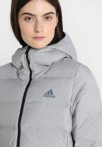 adidas Performance - HELIONIC - Down jacket - medium grey heather - 5