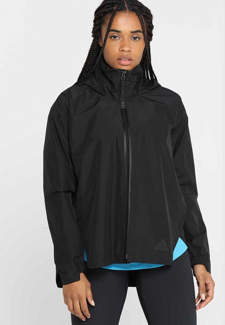 adidas Performance - URBAN CLIMAPROOF RAIN JACKET - Regenjacke / wasserabweisende Jacke - black