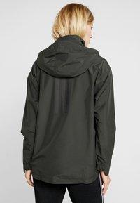 adidas Performance - URBAN CLIMAPROOF RAIN JACKET - Regnjakke - anthracite - 2