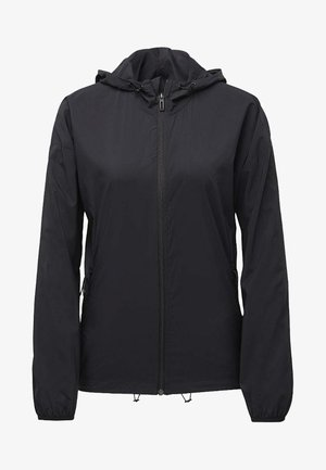 WOVEN COVER-UP - Training jacket - black
