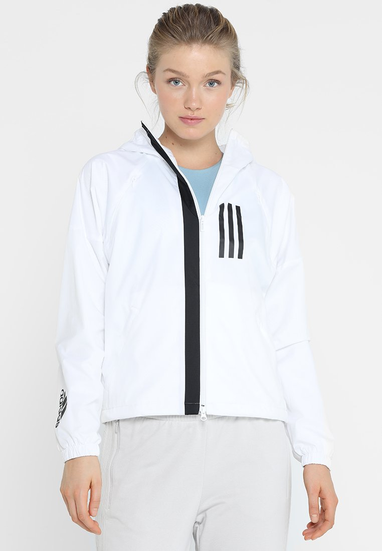 adidas Performance - W WND JKT FL - Training jacket - white