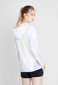 adidas Performance - RESPONSE JACKET - Training jacket - white - 2