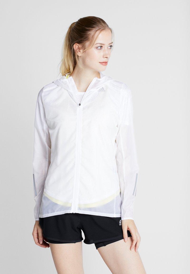 adidas Performance - RESPONSE JACKET - Training jacket - white