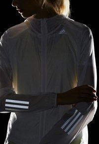adidas Performance - RESPONSE JACKET - Training jacket - white - 4