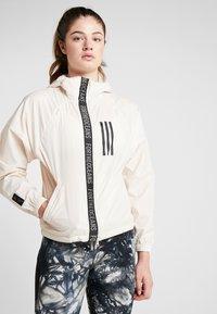 adidas Performance - Training jacket - offwhite - 0