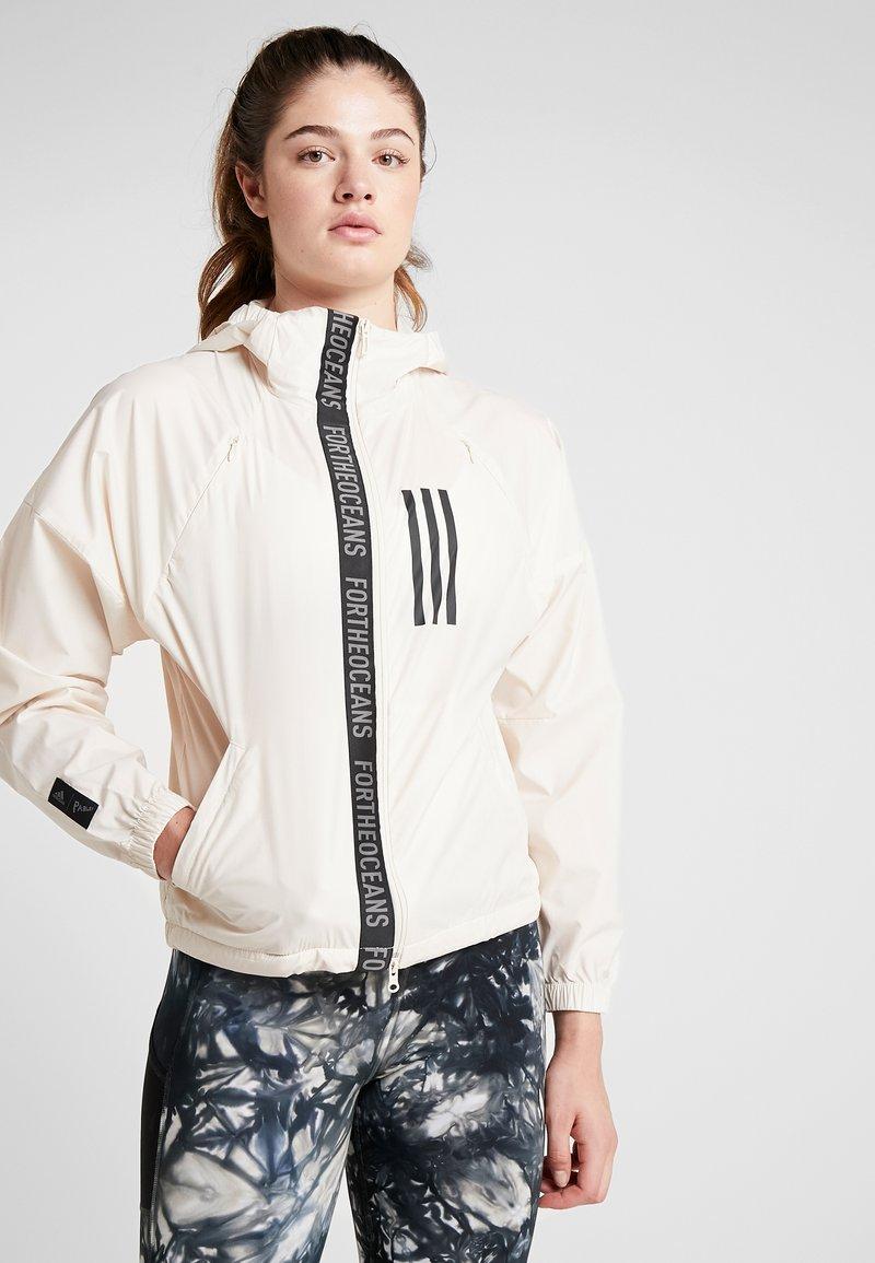 adidas Performance - Training jacket - offwhite