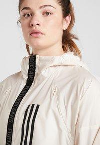 adidas Performance - Training jacket - offwhite - 3