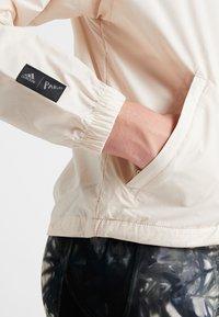 adidas Performance - Training jacket - offwhite - 5