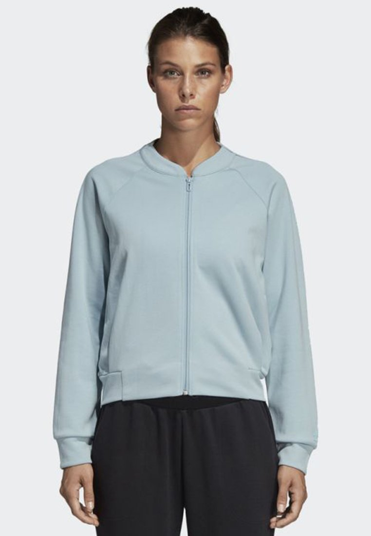 adidas Performance - ID GLORY BOMBER JACKET - Trainingsvest - blue