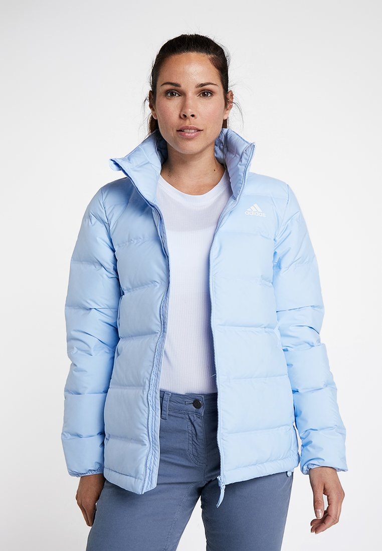 adidas Performance - HELIONIC 3-STRIPES DOWN JACKET - Winterjacke - blue