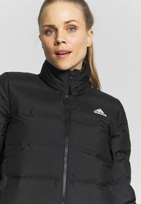 adidas Performance - HELIONIC  - Gewatteerde jas - black - 4