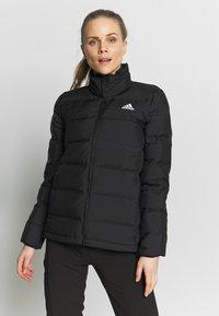 adidas Performance - HELIONIC  - Gewatteerde jas - black - 0
