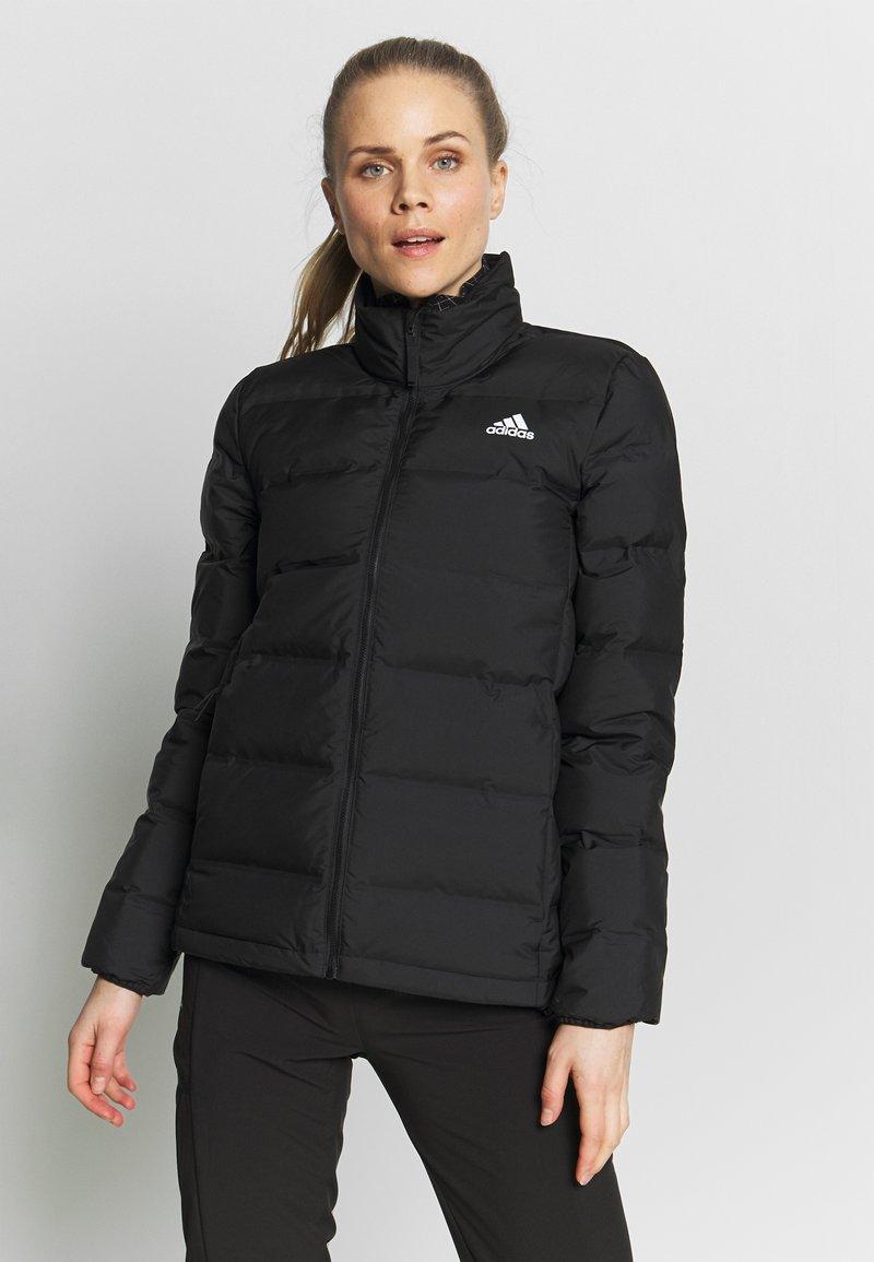 adidas Performance - HELIONIC  - Gewatteerde jas - black