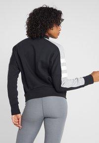 adidas Performance - SID JACKET - Zip-up hoodie - black/medium grey heather - 2