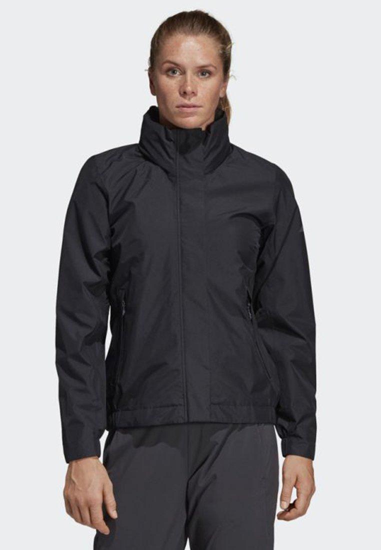adidas Performance - AX ENTRY JACKET - Regnjakke / vandafvisende jakker - black