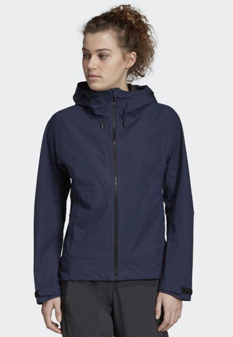 adidas Performance - SWIFT RAIN JACKET - Regnjakke / vandafvisende jakker - blue