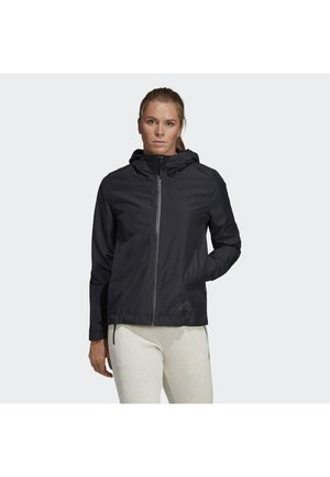 CLIMAPROOF RAIN JACKET - Regnjakke - black
