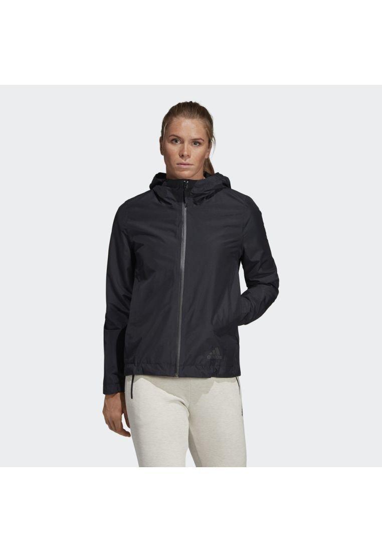adidas Performance - CLIMAPROOF RAIN JACKET - Waterproof jacket - black