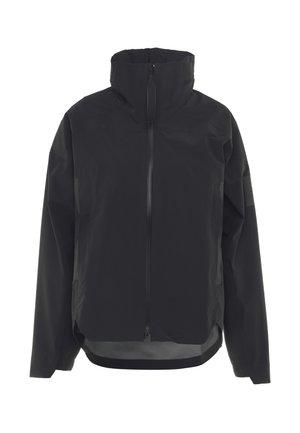 MYSHELTER RAIN.RDY  - Waterproof jacket - black