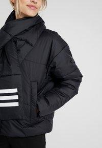 adidas Performance - BIG BAFFLE WINTER JACKET - Zimní bunda - black - 6
