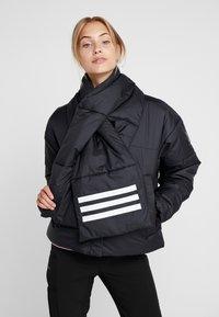 adidas Performance - BIG BAFFLE WINTER JACKET - Zimní bunda - black - 0