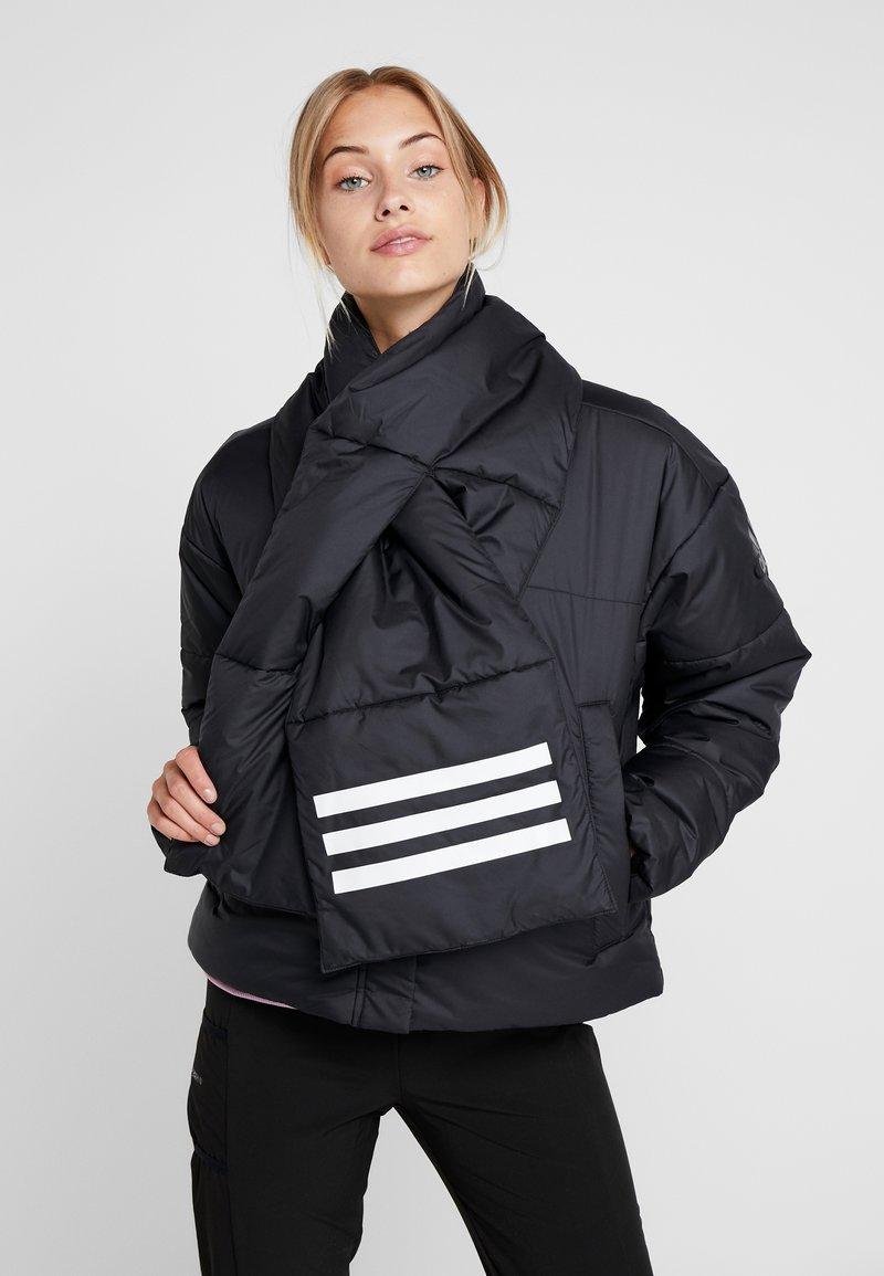 adidas Performance - BIG BAFFLE WINTER JACKET - Zimní bunda - black