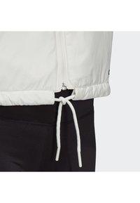 adidas Performance - TERREX LIGHT INSULATED - Winter jacket - white - 6