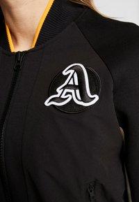 adidas Performance - CITY JACKET - Veste de survêtement - black/linen - 5