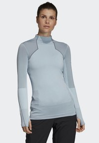 adidas Performance - TERREX PRIMEKNIT BASELAYER - Long sleeved top - blue - 0