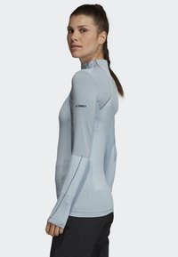 adidas Performance - TERREX PRIMEKNIT BASELAYER - Long sleeved top - blue
