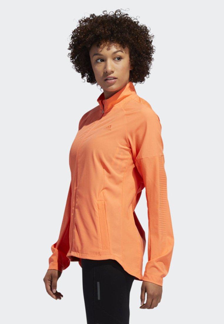 adidas Performance RISE UP N RUN JACKET - Laufjacke orange