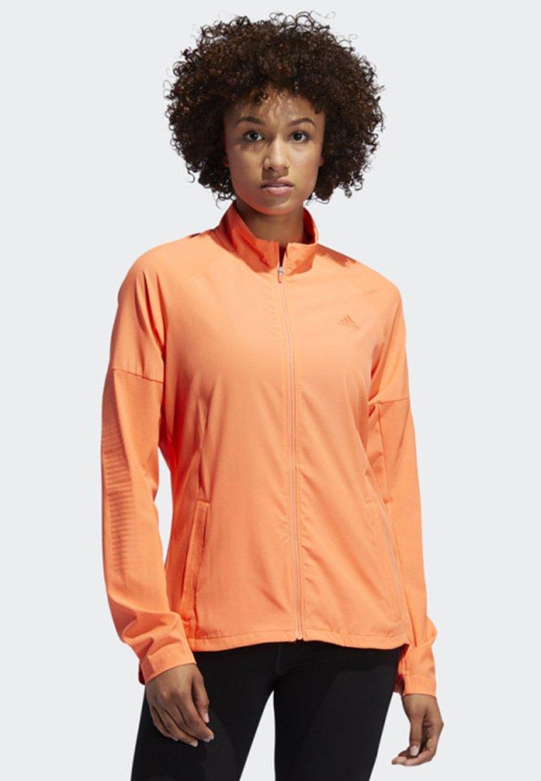adidas Performance - RISE UP N RUN JACKET - Laufjacke - orange