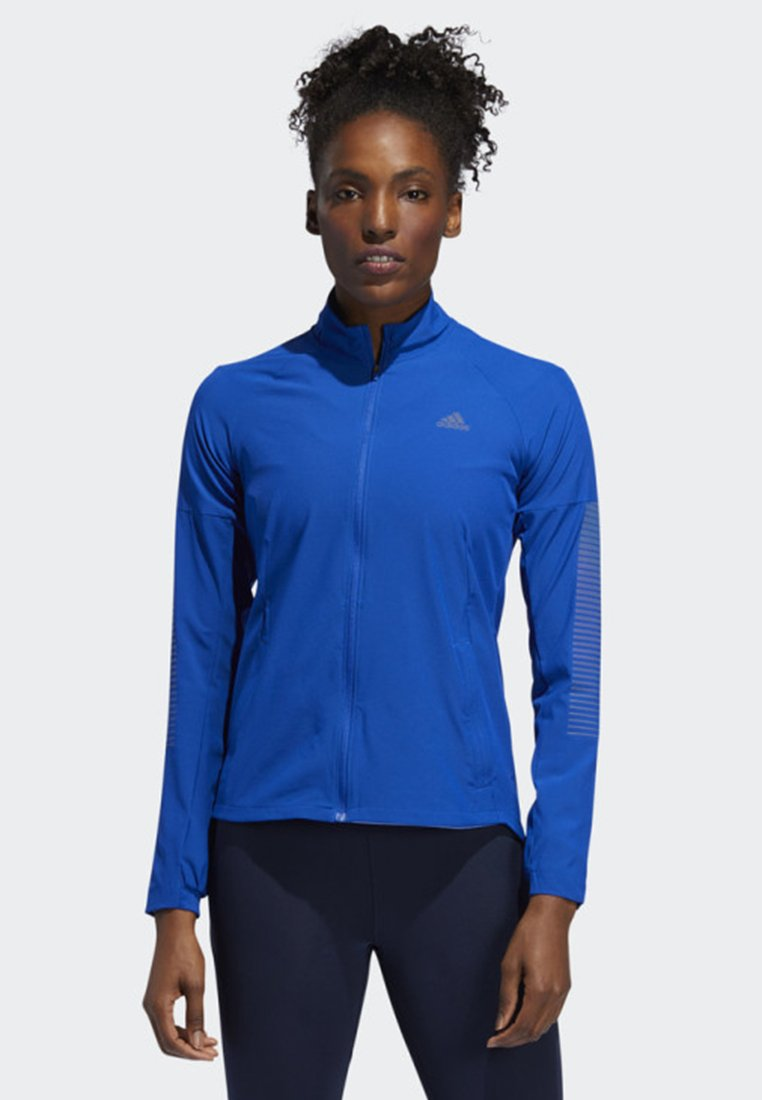 adidas Performance - RISE UP N RUN JACKET - Veste de running - blue